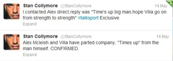 collymore twitter