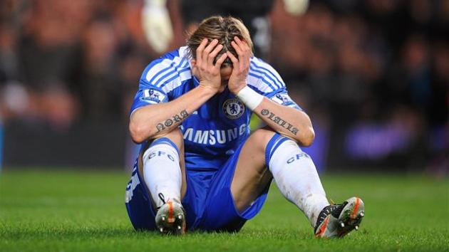 fernando torres chelsea upset transfer champions league