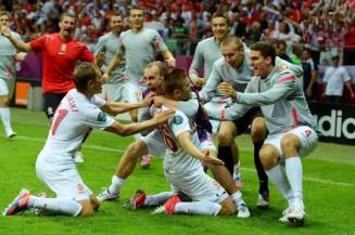 Blaszczykowski Kuba Poland Russia euro 2012 equalier violence warsaw