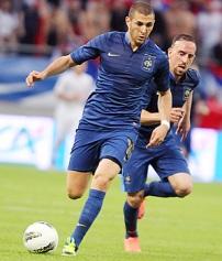 karim benzema france euro 2012 spain