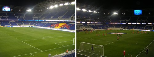 red bull arena inside new york red bulls mls soccer