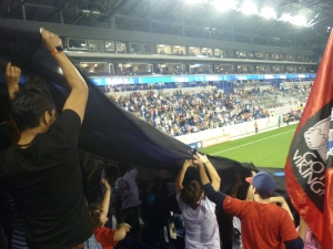 red bull new york fans viking army red bull arena mls soccer