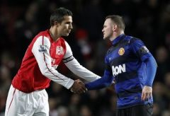 van persie manchester united man transfer football rooney soccer arsenal rvp