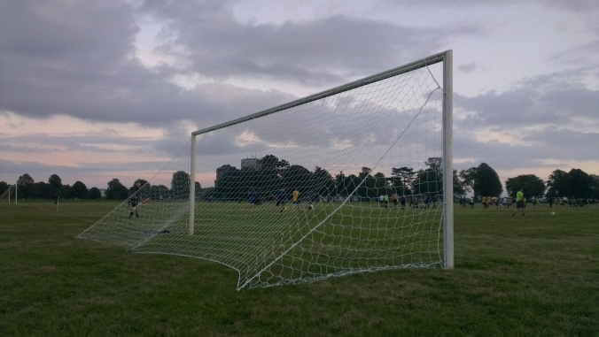 Bristol Downs League goal football soccer