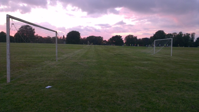 bristol downs league kick off night match football soccer