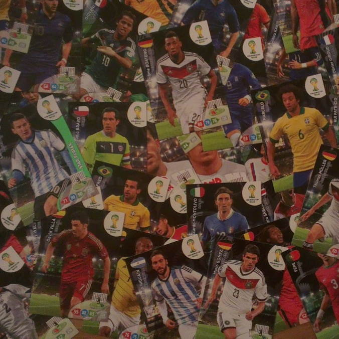 panini world cup brazil 2014 stickers cards album