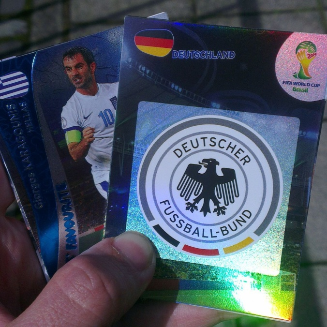 panini world cup brazil 2014 stickers cards adrenalyn xl germany greece